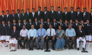 மாணவ முதல்வர்களுக்கான சின்னம் சூட்டு விழா - 2021