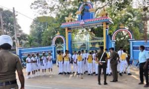 கல்லூரியின் போக்குவரத்துப் பிரிவு மாணவர்களுக்கு போக்குவரத்து விதிகள் தொடர்பான பயிற்சி நிகழ்வு